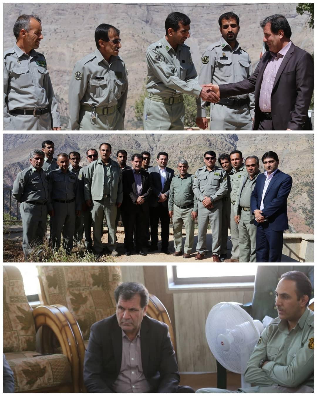 تجلیل استاندار از محیط بانان پارک ملی دنا/ گزارش های دلخراشی که به احمدی می رسد