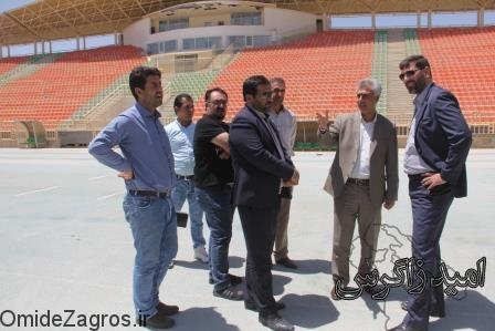 ورزشگاه 15هزارنفری یاسوج به ورزش وجوانان استان واگذار می شود