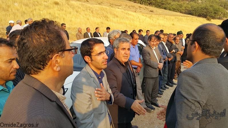 مراسم تشییع و خاکسپاری زنده یاد بهرام مومن نسب در  سروک+ تصاویر