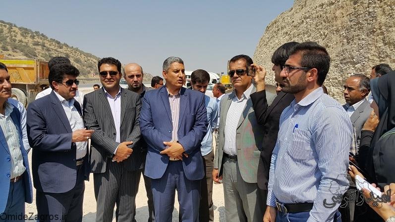بازدید خبرنگاران استان از پروژه جاده یاسوج – اصفهان