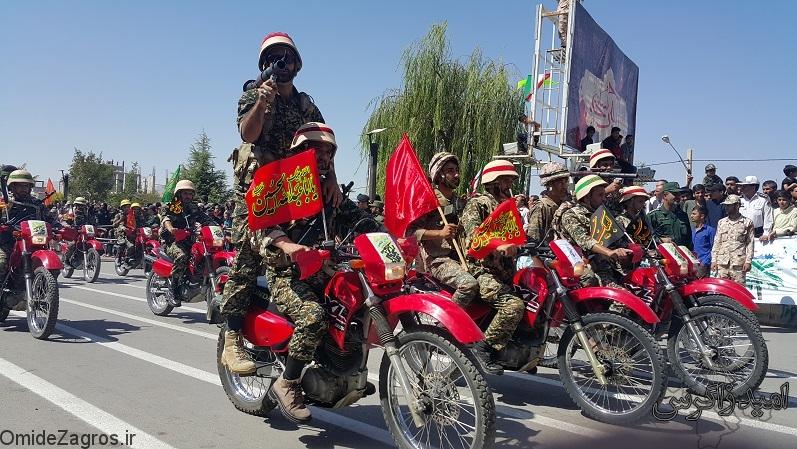 تصاویر جذاب و دیدنی از رژه نیروهای مسلح در یاسوج + تصاویر (2)