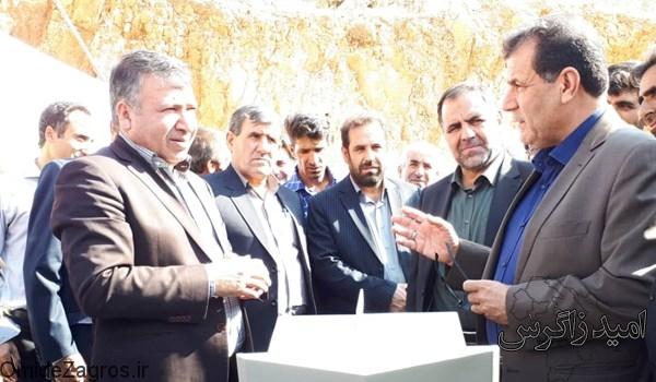 بهره برداری از دو پروژه آبرسانی در شهرستان بویراحمد