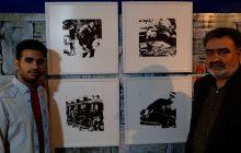 حرف های هنرمند 20 ساله یاسوجی/ آثاری که بر دیوار می درخشد