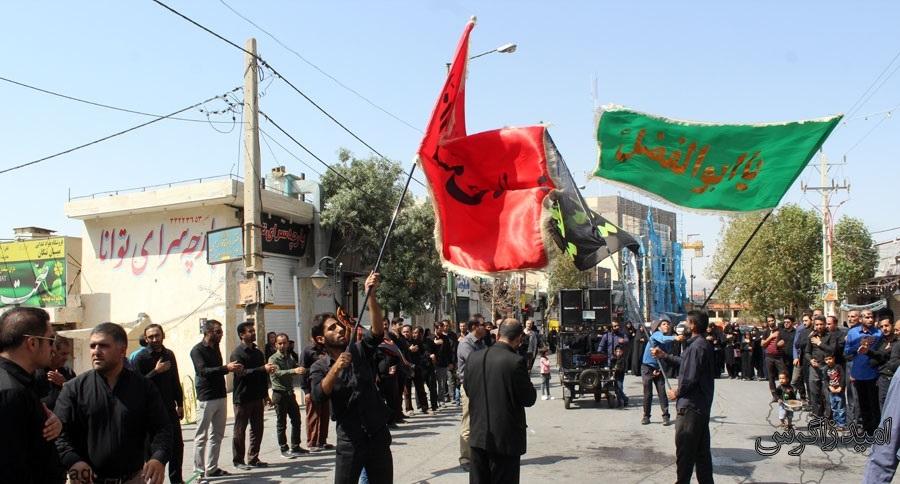 تصاویر ارسالی شهروند خبرنگاران امید زاگرس از تاسوعای حسینی در کهگیلویه وبویراحمد + (تصاویر)