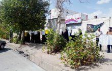 تجمع دانشجویان مقابل دفتر نماینده بویراحمد و دنا در خصوص FATF (+تصاویر)