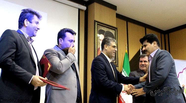 تجلیل از امام بخش قائدی با حضور استاندار کهگیلویه و بویراحمد
