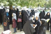 اعتراض دانشجویان پردیس کوثر یاسوج مقابل استانداری / اتاق های زلزله زده 8 نفره یا 18 نفره/ مسئولان به فریاد ما برسید  + تصاویر