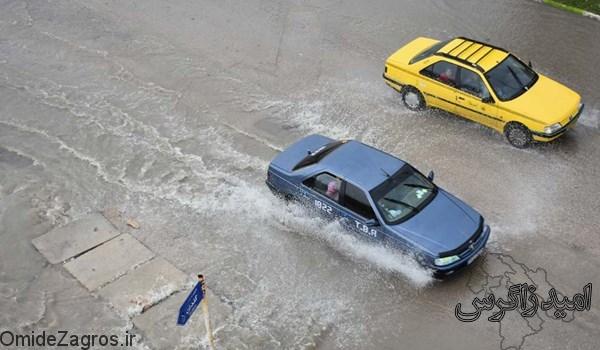 میزان بارش ها و اعلام وضعیت هوای کهگیلویه و بویراحمد تا 4 روز آینده