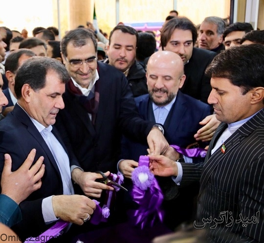 بیمارستان شهید جلیل یاسوج افتتاح شد/ تجمع بازنشستگان جلوی درب بیمارستان + تصاویر