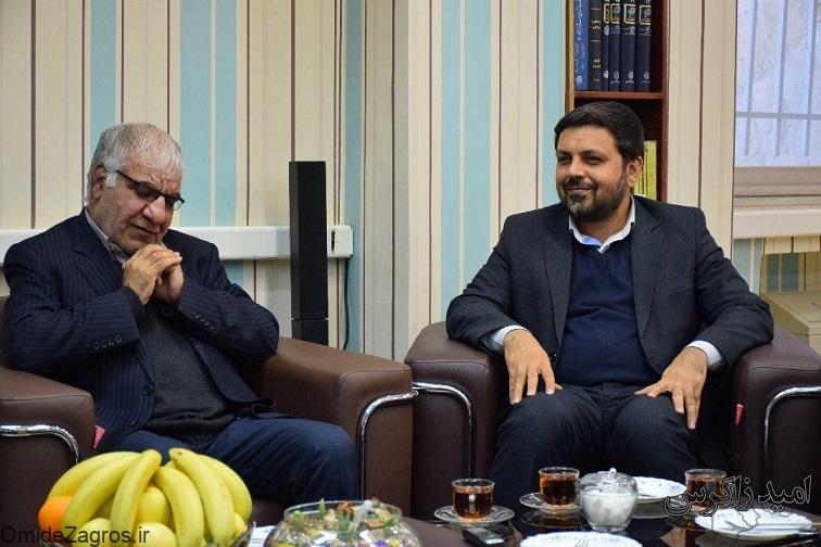 نشست مشترک رئیس دانشگاه یاسوج با مدیرکل صداوسیمای استان/ همکاری دوجانبه برای توسعه استان + تصاویر