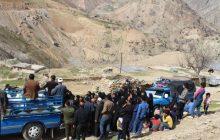 توزیع مواد غذایی بین نیازمندان و محرومان منطقه زیلایی شهرستان بویراحمد