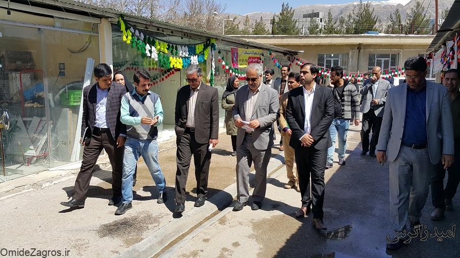 نخستین بازارچه دائمی صنایع دستی یاسوج افتتاح شد (+ تصاویر)