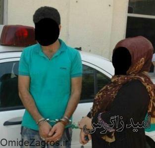 دستگیری قاتل زن ۴۹ ساله در دهدشت