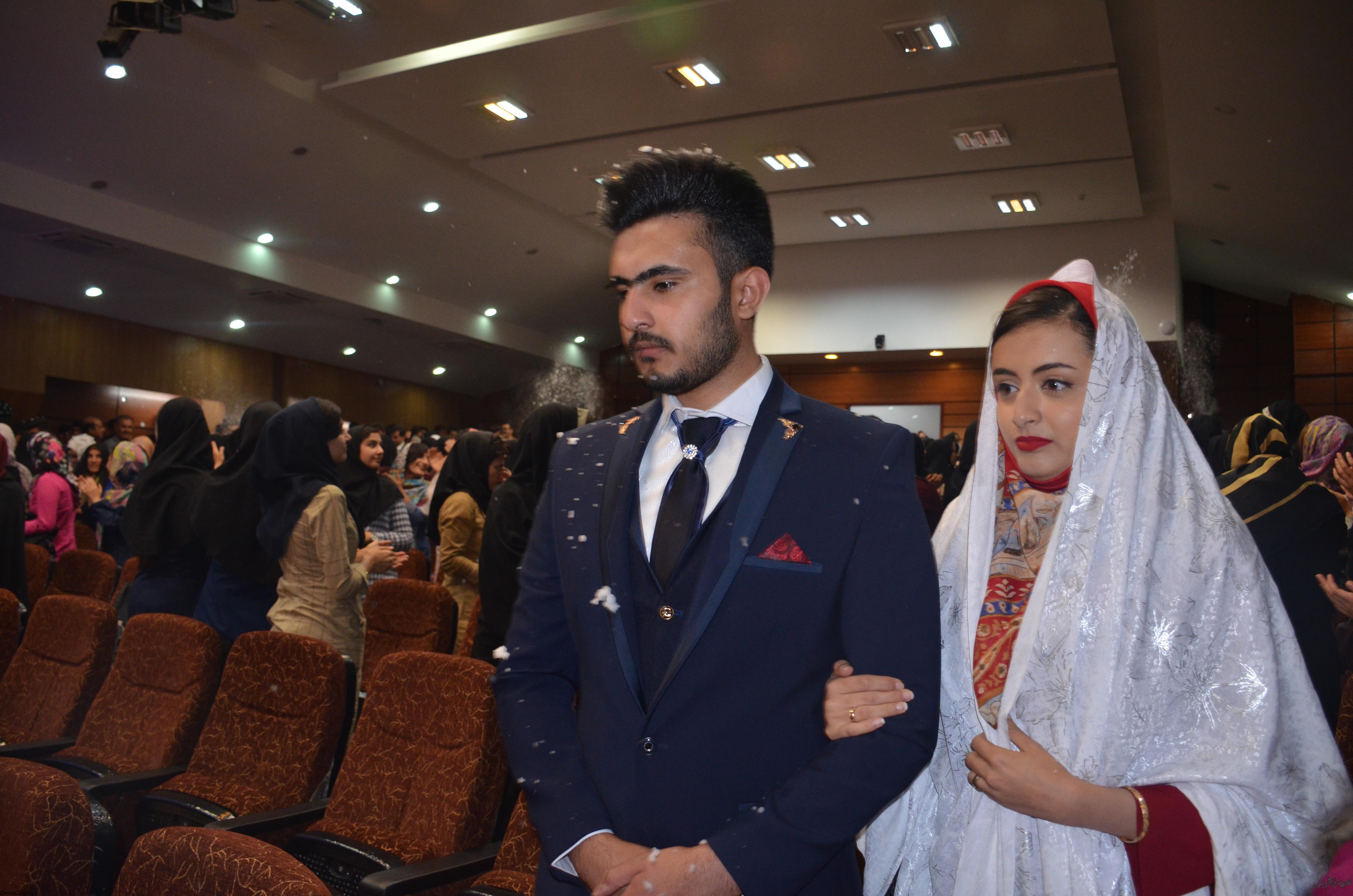 جشن پیوند 30 زوج دانشجو در دانشگاه علوم پزشکی یاسوج + (تصاویر)