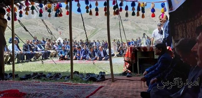 معلمین عشایری در منطقه ییلاقی شبلیز تجلیل شدند (+ تصاویر)