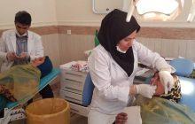 صحنه های جالب یک اردوی جهادی در موشمی و پوله ی زیلایی / ارایه خدمات رایگان دندانپزشکی به 1000 نفر (+ تصاویر)
