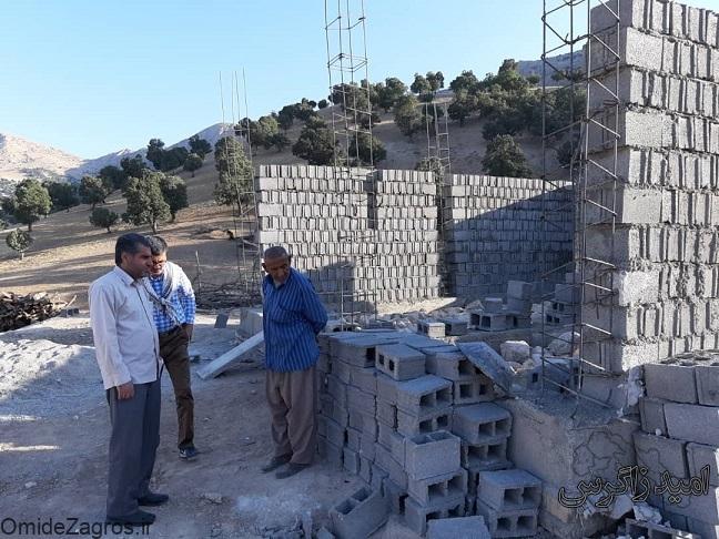 نگاه ویژه قرارگاه پیشرفت و آبادانی به مناطق محروم/ اجرای ۲۰ پروژه عمرانی در دهستان زیلایی