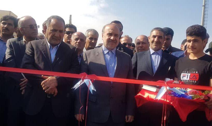 افتتاح 16 پروژه ورزشی در کهگیلویه و بویراحمد با حضور وزیر ورزش