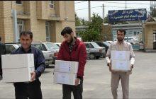 اهدای بسته های بهداشتی بسیج اساتید استان به کمیته امداد و مرکز توانبخشی طلوع +« تصاویر»