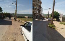 خیابان گلزار شهدای سرآبتاوه آماده حادثه مرگبار/ تقاضای مردم از استاندار