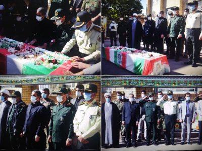 تشییع پیکر مطهر شهید امنیت نیروی انتظامی کهگیلویه و بویراحمد در یاسوج