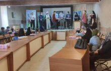 آیین تجلیل از برگزیدگان مسابقه نقاشی حجاب و عفاف در باشت برگزار شد