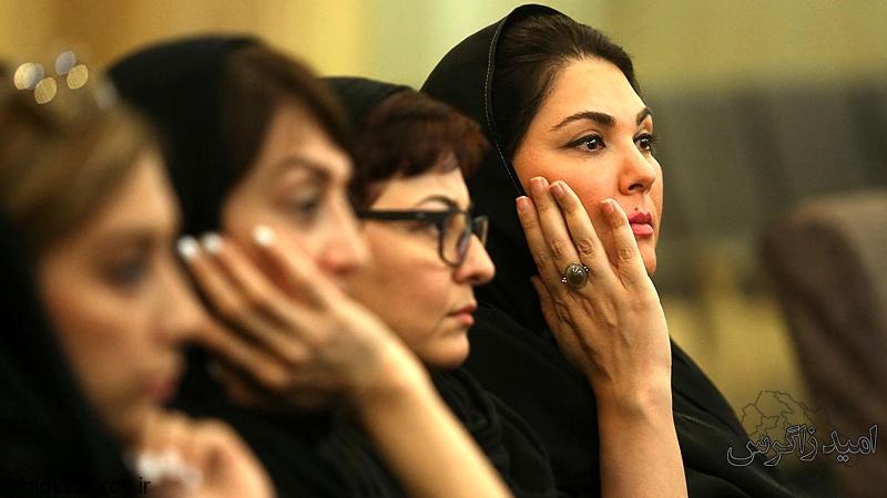 (تصاویر) چهرهها در مراسم ختم عزتالله انتظامی