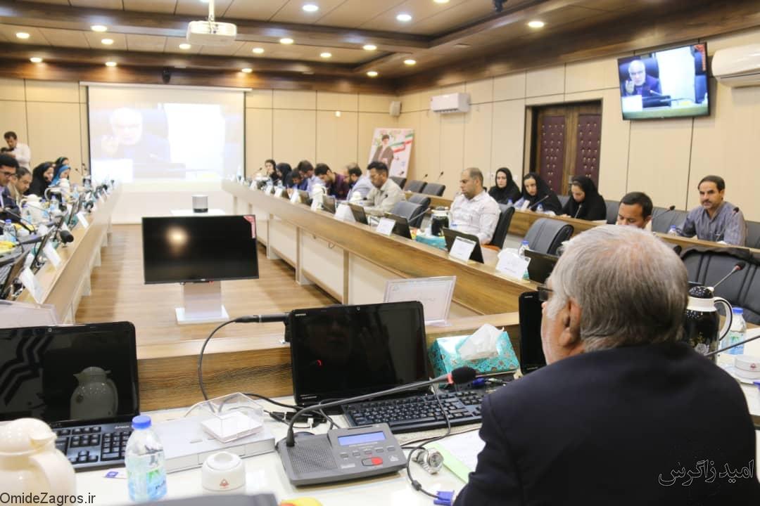گزارش تصویری/ نشست خبری رئیس دانشگاه یاسوج بااصحاب رسانه
