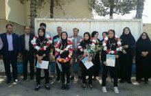 استقبال از تیم قهرمان دختران موتای کهگیلویه بویراحمد در یاسوج(+ تصاویر)