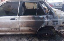 به آتش کشیدن خودروی پراید توسط افراد ناشناس در یاسوج + (تصاویر)