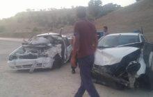تصادف پراید و پژو در جاده یاسوج - اصفهان 3 مصدوم برجا گذاشت (+ تصاویر)