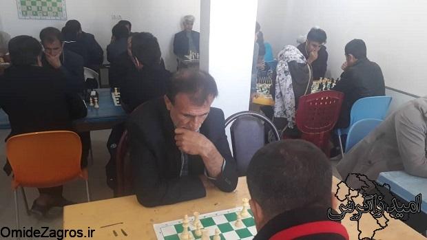 مسابقات شطرنج شهرستان چرام با معرفی نفرات برتر پایان یافت« + تصاویر»