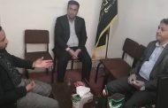 دیدارمدیر عامل کارخانه سیمان مارگون با رئیس سازمان بسیج کارگری استان + «تصاویر»