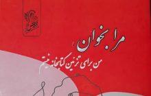 کتاب هنرمند نخبه کهگیلویه و بویراحمدی به چاپ رسید / مرا بخوان