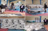 محموله کمک های اتاق بازرگانی یاسوج به منطقه زلزله زده سی سخت رسید